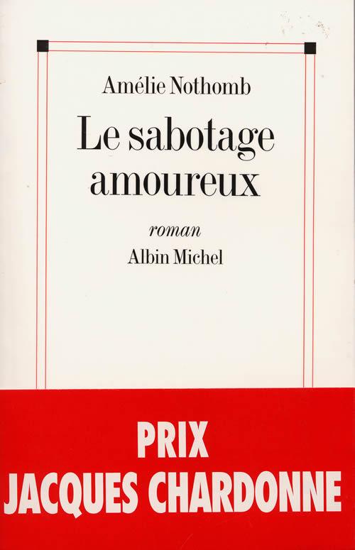 Télécharger la couverture du roman Le sabotage amoureux