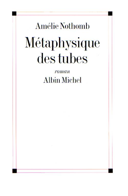 Télécharger la couverture du roman Métaphysique des tubes